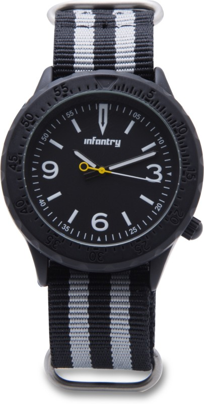 Infantry IN-0103-BLK Analog Watch - For Men
