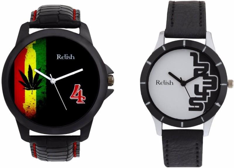 Relish R-1033C Couple Watch image.