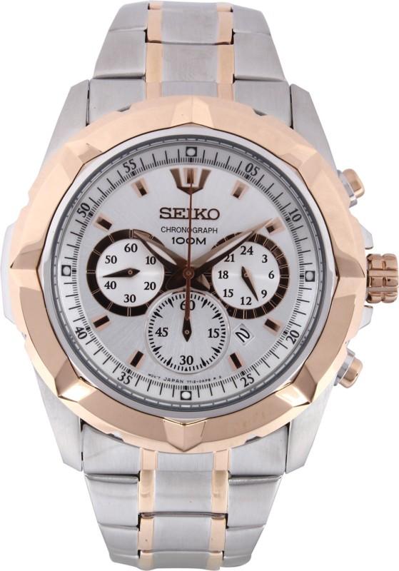 Seiko SRW026P1 Smart Analog Watch - For Men