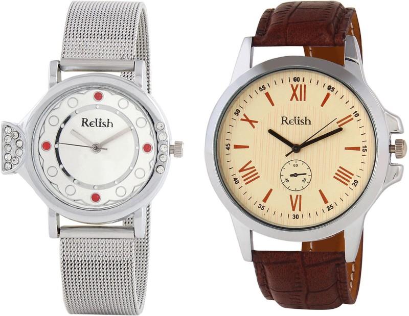 Relish R-880C Couple Watch image