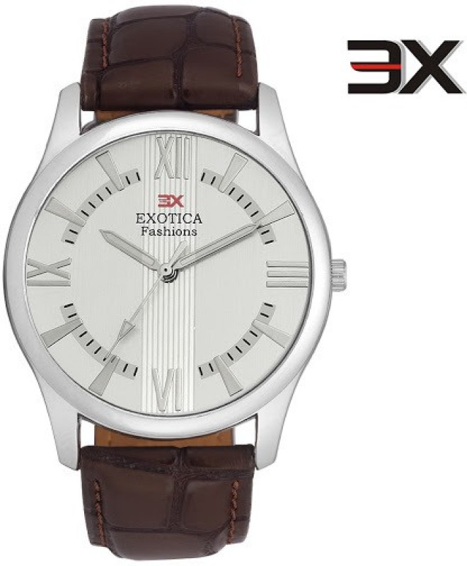 Exotica Fashions EFGM-22-Dark-Brown-NS New Series Analog Watch - For Men