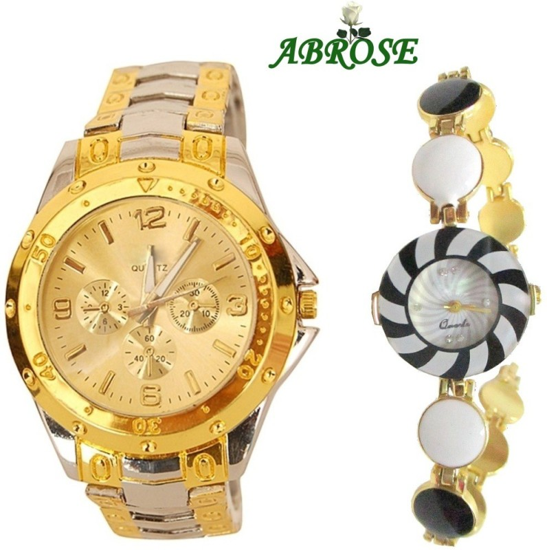 Abrose Rosracombo10034 Analog Watch - For Couple