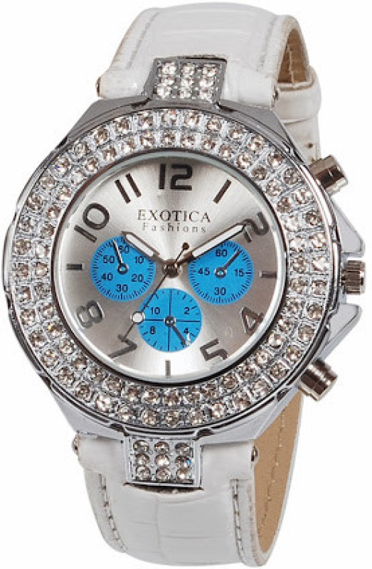 Exotica Fashions EFN-07-Blue-New New Series Women's Watch image.