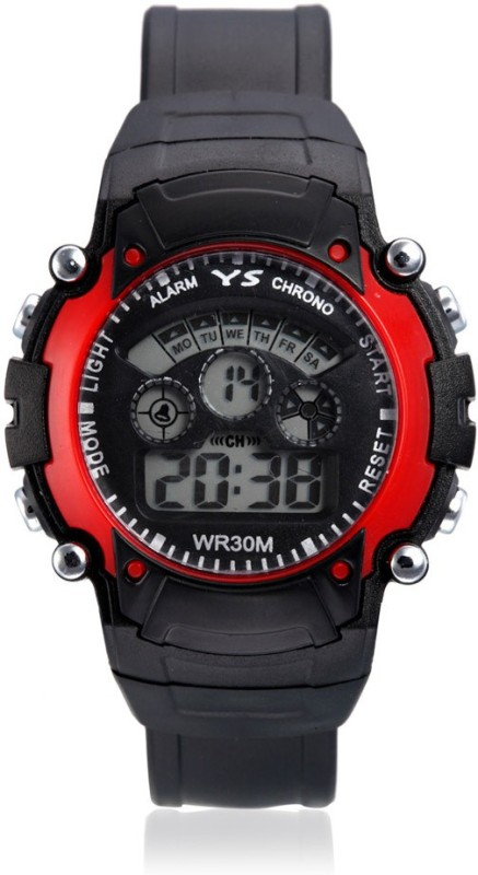 aviva-sports-ss-red-in-black-watch-for-boys