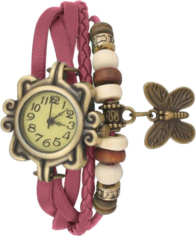 Golddust VKI4 Vintage Analog Watch - For Girls