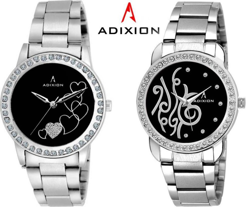 ADIXION 9404SMB101 New Stainless Steel Combo Collection Watches Analog Watch - For Women