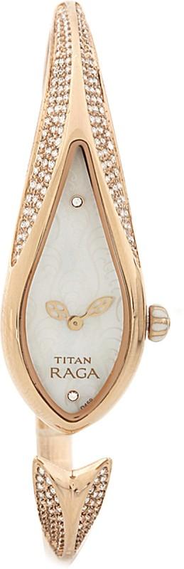 Titan NH9812WM01 Raga Analog Watch - For Women