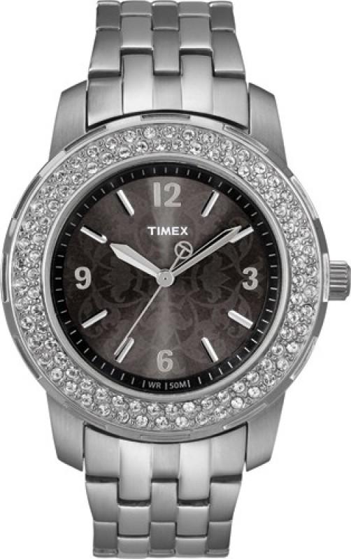 Timex T2N147 Fashion Analog Watch - For Women