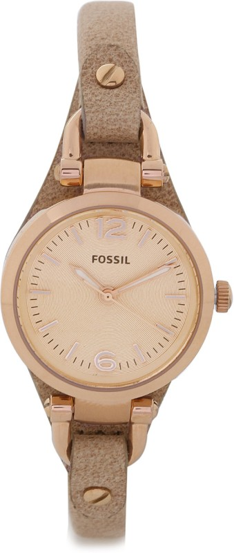 Fossil ES3262 Georgia Analog Watch - For Women