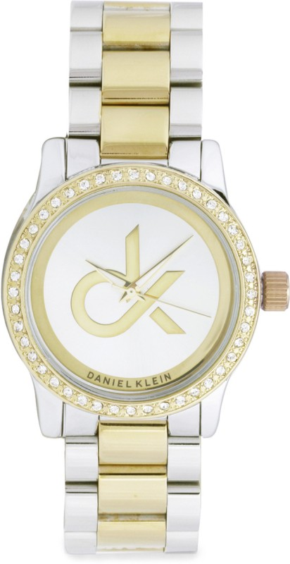 Daniel Klein DK10159TMSL Analog Watch - For Women
