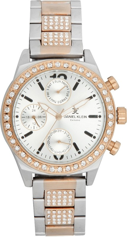 Daniel Klein DK10706-5 Analog Watch - For Women
