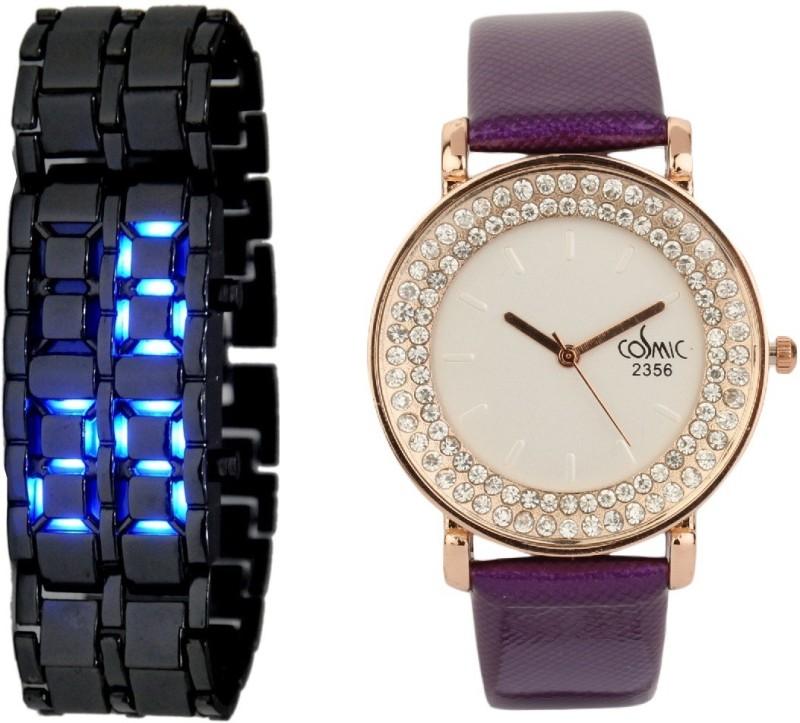 Declasse DIAMOND LED - 0643 DIAMOND LED Analog-Digital Watch - For Men & Women