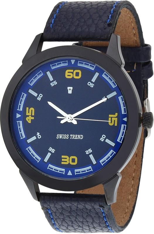 Swiss Trend ST2009 Blue Fashionable Men's Watch