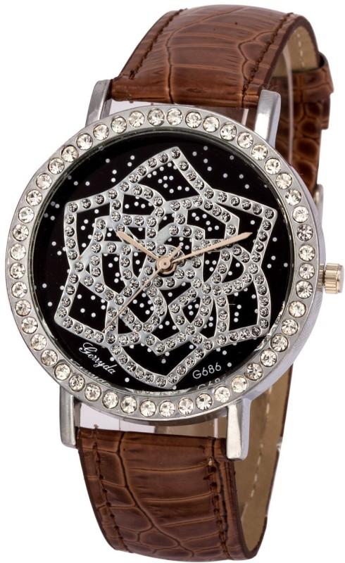 gerryda-g686-brown-watch-for-women