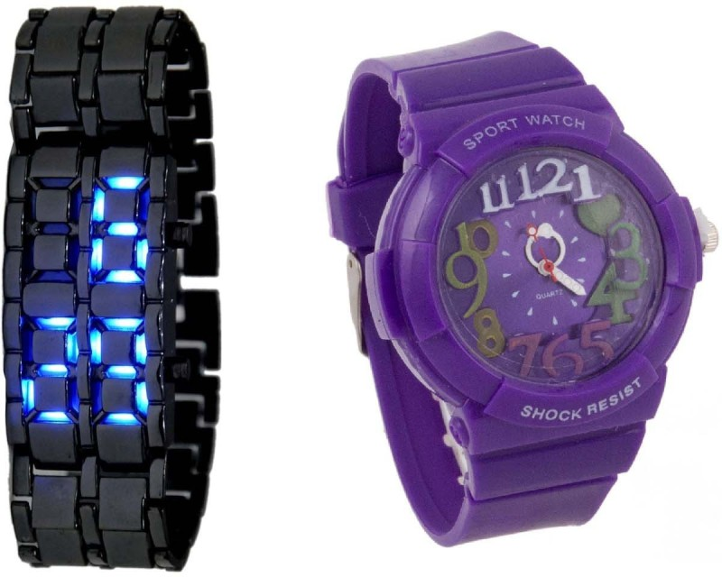 Declasse COSMIC LED - 4569 COSMIC KIDS Analog-Digital Watch - For Men & Women