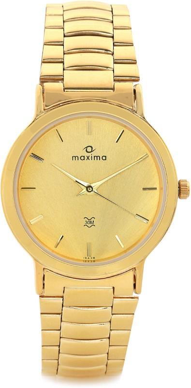 Maxima 19438CMGY Men's Watch image