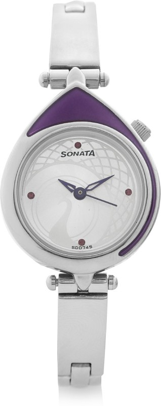 Sonata 8119SM01C Sona Sitara Analog Watch - For Women