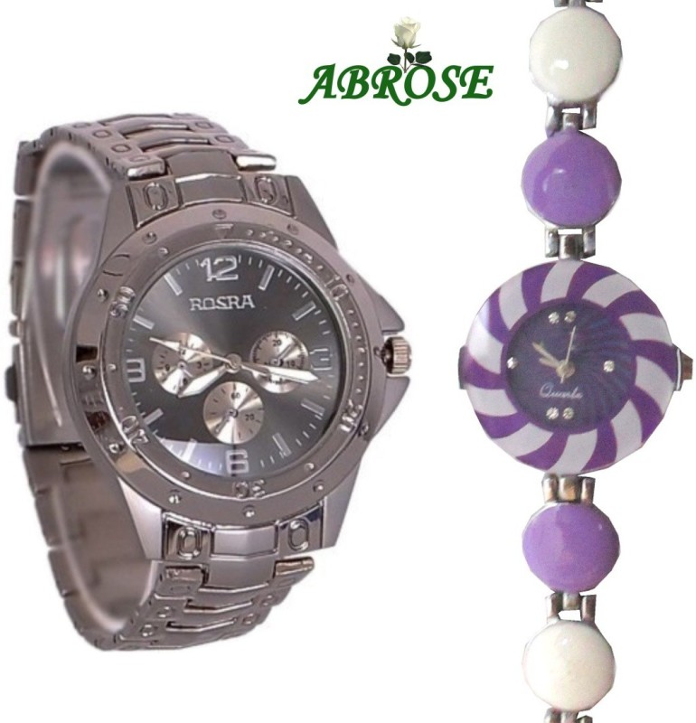 Abrose Rosracombo10003 Analog Watch - For Couple