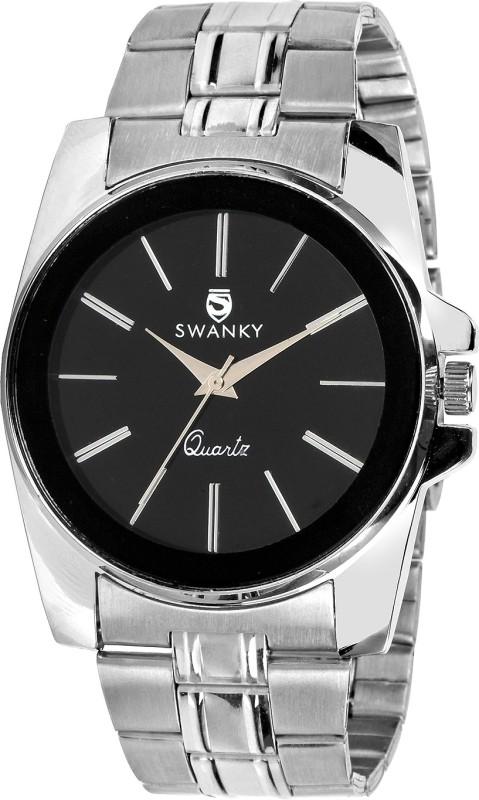 Swanky sc-MW-PlnChn-Bl No Analog Watch - For Men