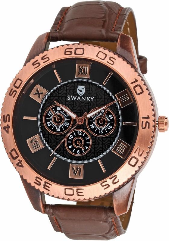 Swanky SC-MW-CrnSty01-Bl Analog Watch - For Boys