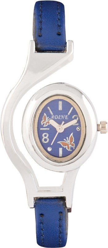 Adine AD-1302 BLUE-BLUE Fasionable Analog Watch - For Women