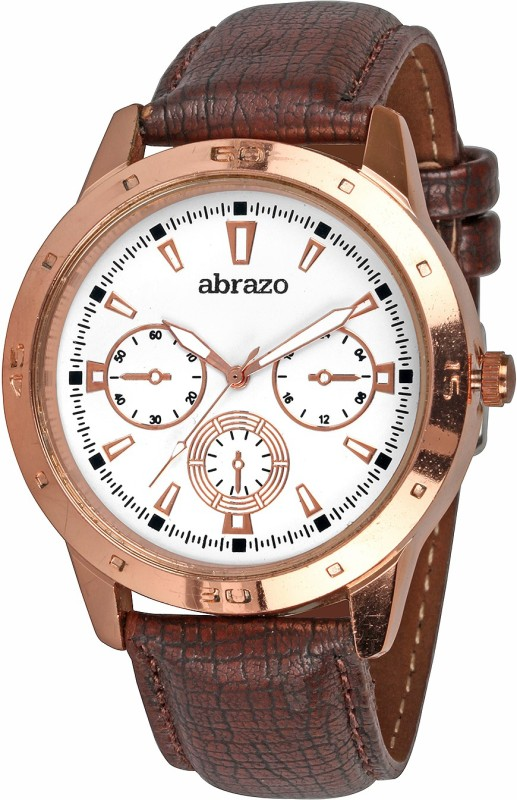 Abrazo CRONO-2-WH Analog Watch - For Men
