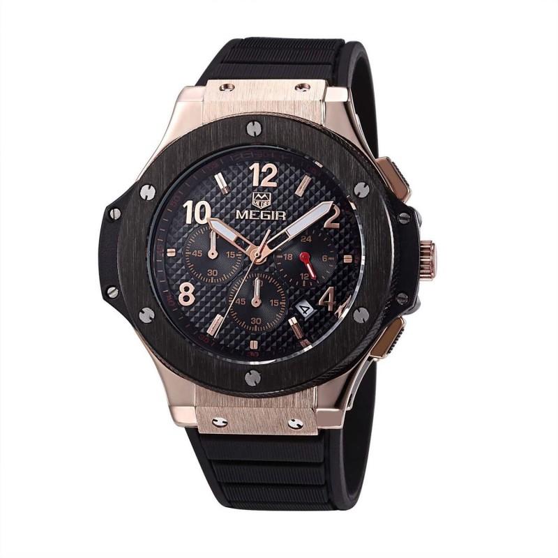 Megir 3002-A2 Analog Watch - For Men
