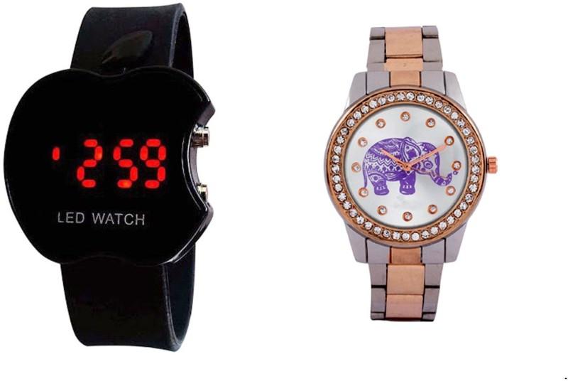 Declasse SOOMS LED - 0129 SOOMS LED Analog-Digital Watch - For Men & Women