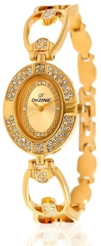 Dezine DZ-LR111-GLD-GLD Women's Watch image