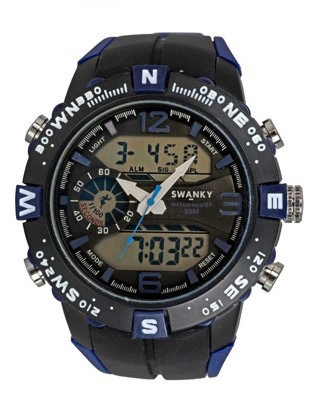 Swanky 5909 Analog-Digital Watch - For Boys