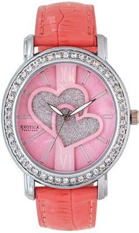 Exotica Fashions New-EFL-70-H-Pink Basic Analog Watch - For Women