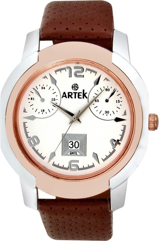 Artek -4014-SILVER-COPPER Analog Watch - For Men