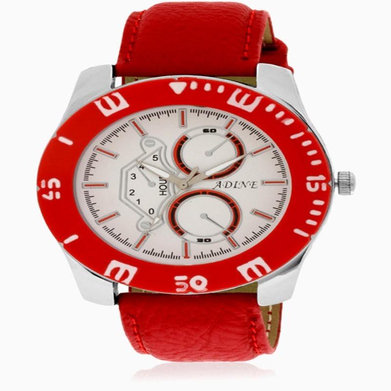 Adine 6015rd Analog Watch - For Men