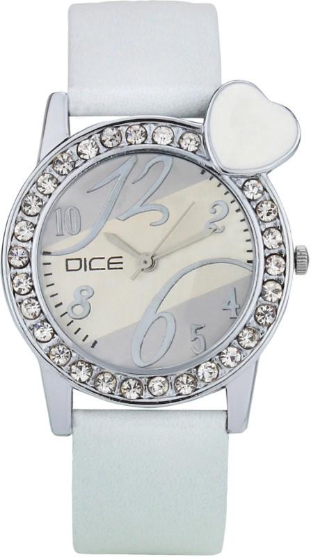 Dice HBTW-W175-9655 heartbeat white Women's Watch image