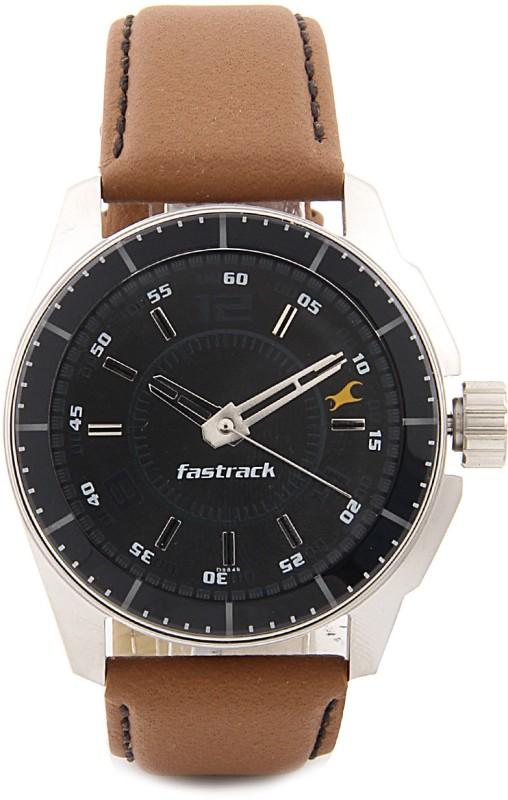 Fastrack NG3089SL05 Black Magic Watch - For Men