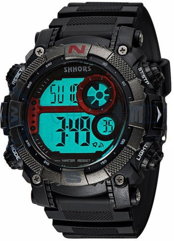 Shhors 805-R Digital Watch - For Men