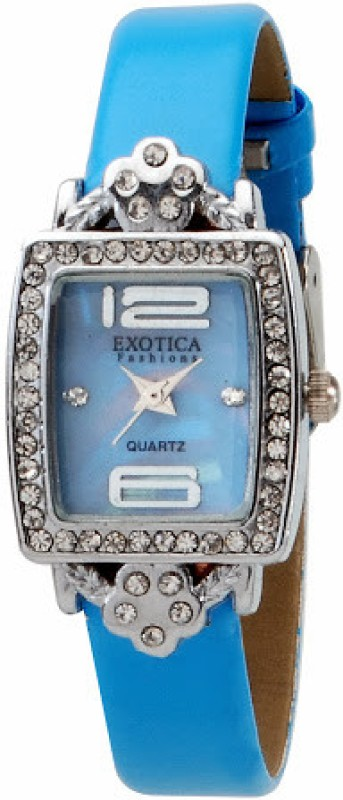 Exotica Fashions EFL-51-Blue-L Analog Watch - For Women