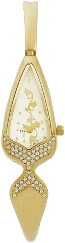 Maxima 21981BMLY Gold Women's Watch image