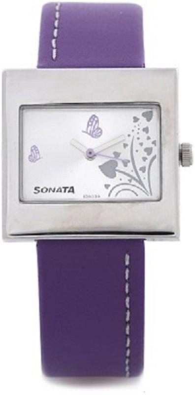 Sonata yuva steel Women's Watch image