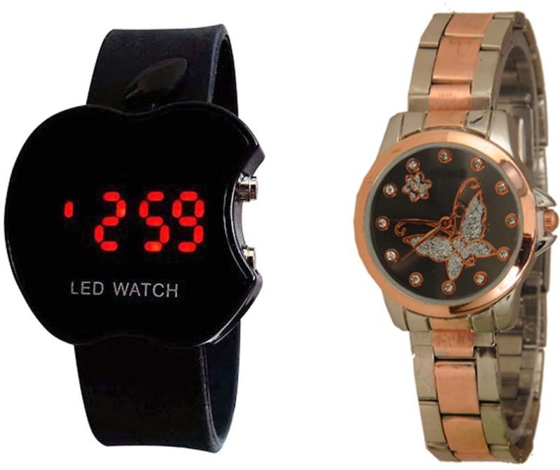 Declasse SOOMS LED -6403 SOOMS LED Analog-Digital Watch - For Men & Women