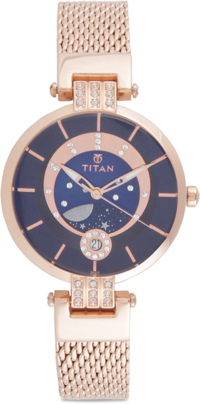 Titan 95014WM01 Women's Watch image