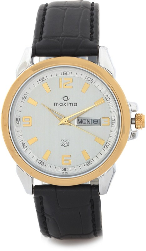 Maxima 26342LMGT Gold Men's Watch image