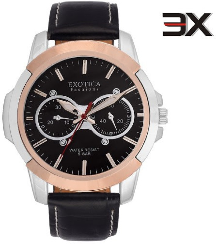 Exotica Fashions EFG-05-TT-BL-NS New Series Analog Watch - For Men