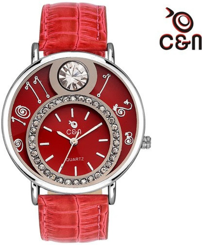 Chappin & Nellson CN-10-L-Red-New New Series Analog Watch - For Women
