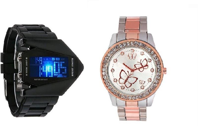 Declasse SAMOSA - 5420 SAMOSA Analog-Digital Watch - For Men & Women