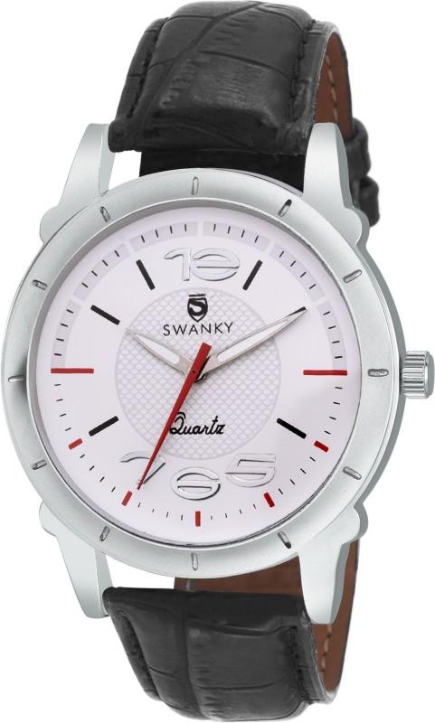 Swanky SC-MW-Dgt765-Wh Analog Watch - For Men