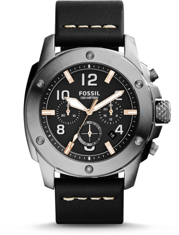Fossil FS5016 Machine Analog Watch - For Men(End of Season Style)