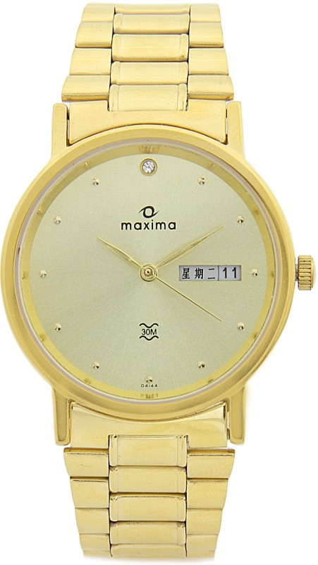 Maxima 04144CMGY Men's Watch image