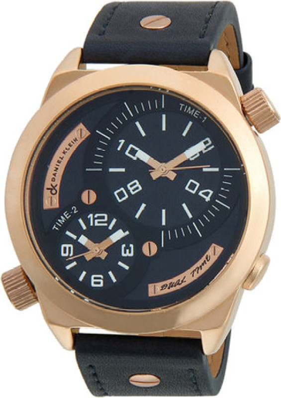 Daniel Klein DK10123RGLBL Analog Watch - For Men