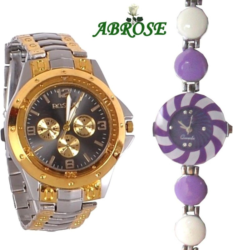 Abrose Rosracombo1002 Analog Watch - For Couple